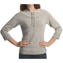 Woolrich Fair Isle Pullover Sweater - Lambswool, 3/4 Sleeve (For Women)