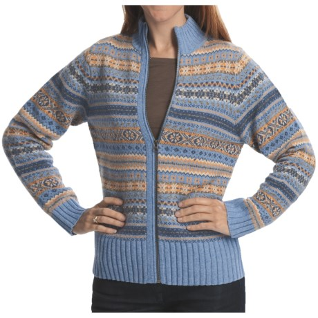 Woolrich Natella Cardigan Sweater - Lambswool (For Women)