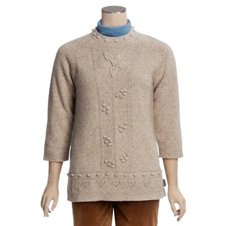 Woolrich Millcreek Pullover Shirt - Lambswool, 3/4 Sleeve (For Women)