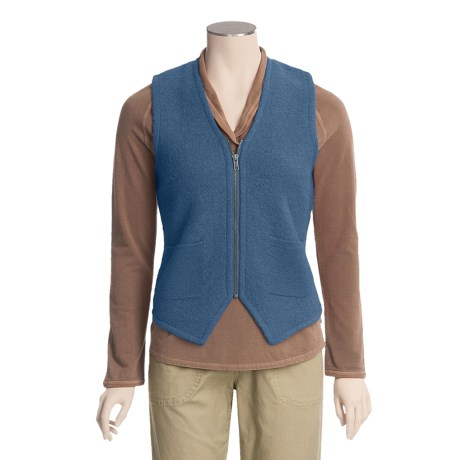 Woolrich Saranna Sweater Vest - Zip Front (For Women)