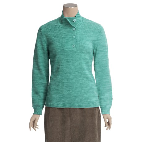Woolrich Stony Valley Sweater - Cotton (For Women)
