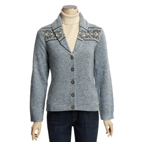 Woolrich Devan Cardigan Sweater - Shawl Collar (For Women)