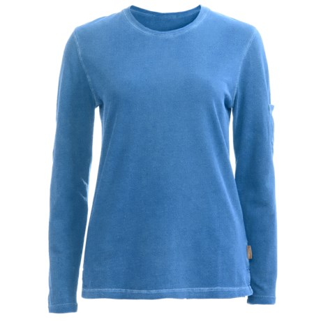 Woolrich Clarion Shirt - Cotton Crepe Knit, Long Sleeve (For Women)