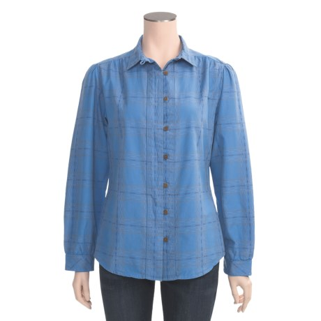 Woolrich Brookhaven Shirt - Textured Cotton Dobby, Long Sleeve (For Women)