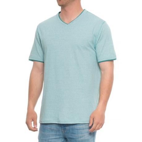 Lee Hanson Stripe T-Shirt - V-Neck, S/S (For Men)