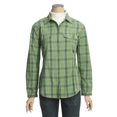 Woolrich Mercer Shirt - Cotton Dobby, Long Sleeve (For Women)