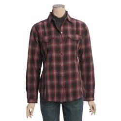 Woolrich Mercer Shirt - Cotton Dobby, Long Sleeve (For Women)