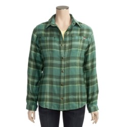 Woolrich Sawyer Shirt Jacket - 8 oz. Brushed Twill (For Women)