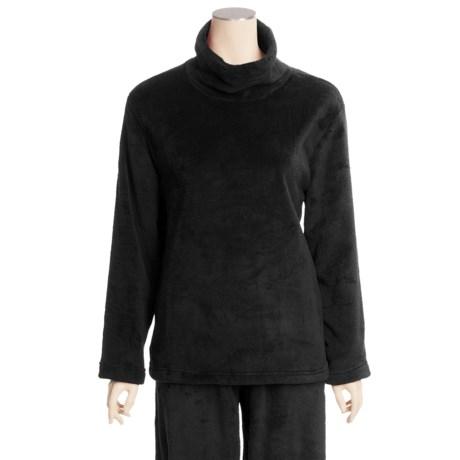 Woolrich Furry Fleece Pajama Top - Long Sleeve (For Women)