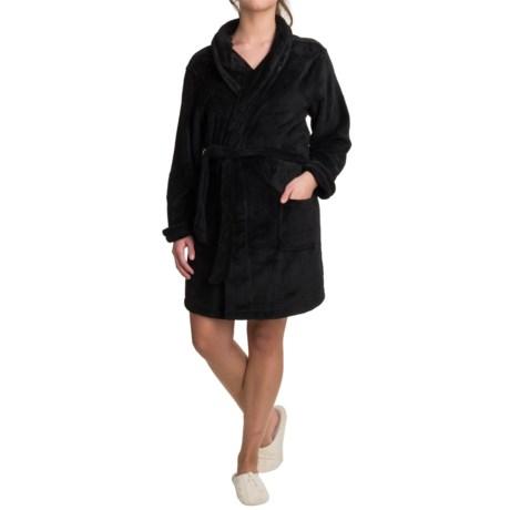 Woolrich Furry Fleece Robe - Shawl Collar (For Women)