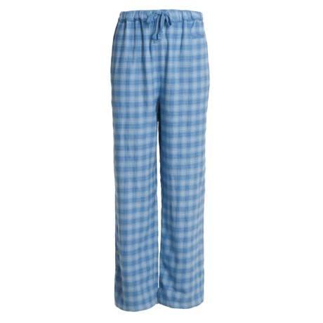 Woolrich Flannel Plaid Pajama Bottoms (For Women)