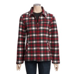 Woolrich Stag Heirloom Shirt Jacket - Wool, Long Sleeve (For Women)