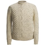 Peregrine by J.G. Glover Aran-Knit Sweater - British Wool (For Men)