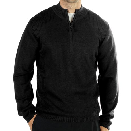ExOfficio Venture Sweater - Merino Wool, Zip Neck (For Men)