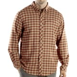ExOfficio Pocatello Plaid Micro Shirt - Long Sleeve (For Men)