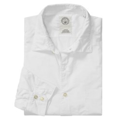 Mason's Trim Fit Sport Shirt - Lightweight Cotton, Long Sleeve (For Men)