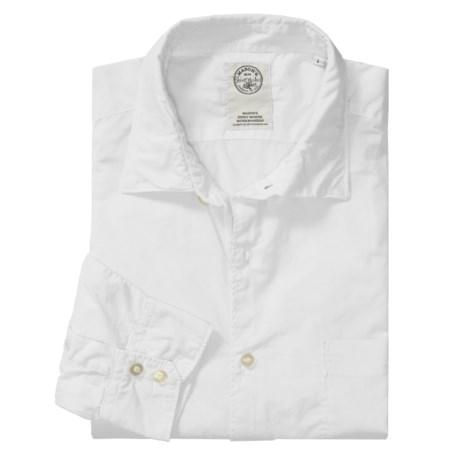 Mason's Trim Fit Sport Shirt - Lightweight Cotton, Long Sleeve (For Men)