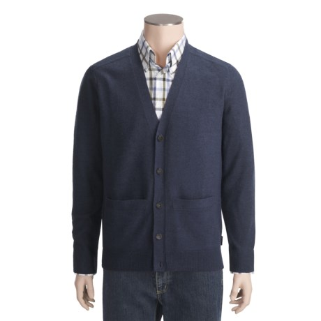 Woolrich Leeward Cardigan Sweater - Merino Wool (For Men)