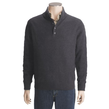 Woolrich Woodruff Mock Neck Sweater - Merino Wool, Long Sleeve (For Men)