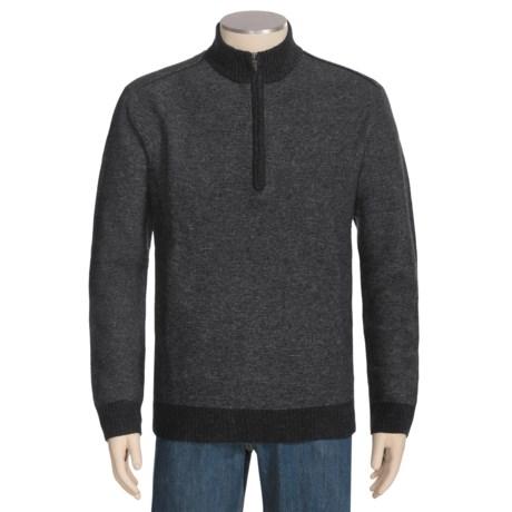 Woolrich Chappell Merino Wool Sweater - Zip Neck, Long Sleeve (For Men)
