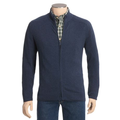Woolrich Voyager Cardigan Sweater - Full Zip (For Men)