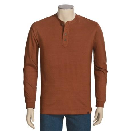 Woolrich First Fork Henley Shirt - Long Sleeve (For Men)