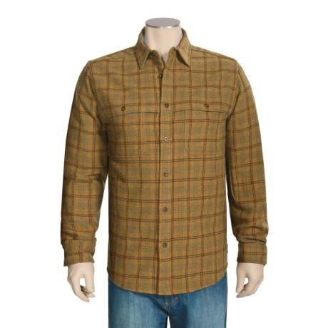Woolrich North Creek Wool Shirt - Long Sleeve (For Men)