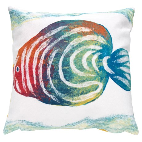 Liora Manné Indoor/Outdoor Angel Fish Pillow - 20x20""