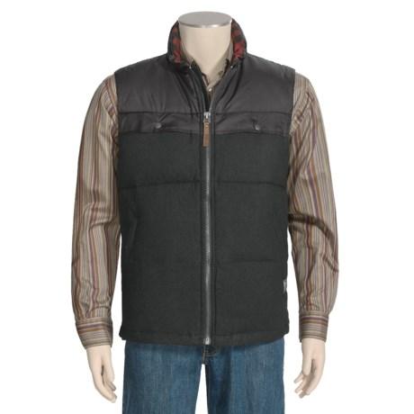 Woolrich Passage Down Vest - 550 Fill Power, Wool (For Men)