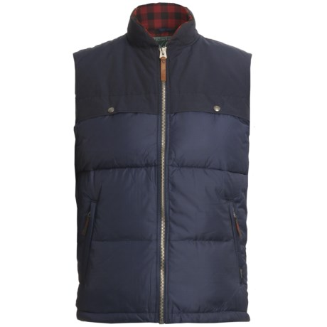 Woolrich Altitude Down Vest - 550 Fill Power (For Men)
