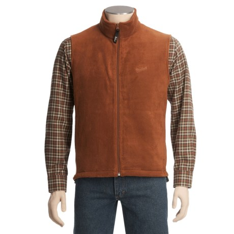 Woolrich Andes Fleece Solid Vest - UPF 40+ (For Men)