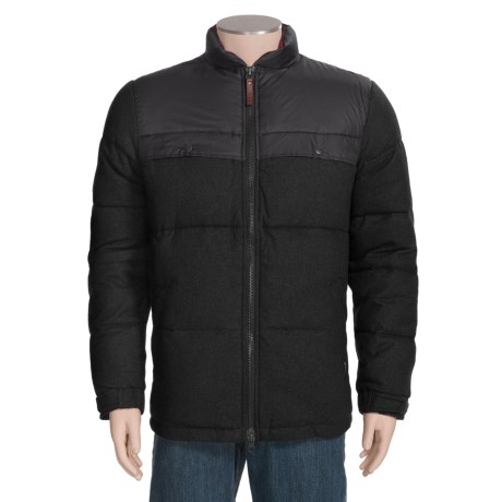 Woolrich Passage Down Jacket - 550 Fill Power, Wool (For Men)