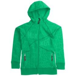 Marker Fantasy Tech Zip Hoodie - Fleece Lining (For Girls)