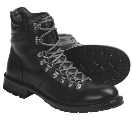 Frye Rogan Hiker Boots - Pebbled Leather (For Men)