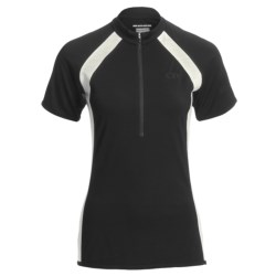 Icebreaker GT Bike Grace Cycling Jersey - Merino Wool, Zip Neck, Short Sleeve (For Women)