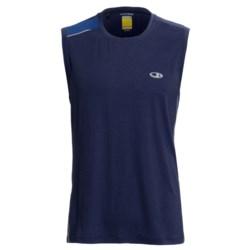 Icebreaker GT Run Ace Shirt - Merino Wool, Sleeveless (For Men)