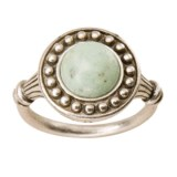 Big Sky Silver Turquoise Morning Ring - Sterling Silver (For Women)