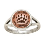 Big Sky Silver Maskwa Ridge Ring (For Women)