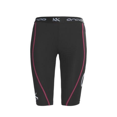 Orca Killa Kompression Perform Cycle Shorts - UPF 50+ (For Women)