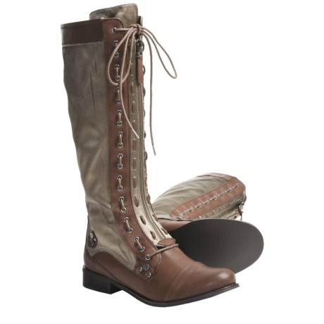 CK Jeans Zoe Tall Boots (For Women)