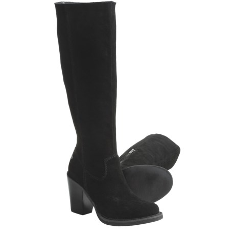 CK Jeans Hollyann Suede Boots - Knee High (For Women)