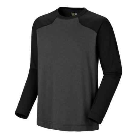Mountain Hardwear Cliffer Color-Block T-Shirt - Long Sleeve (For Men)