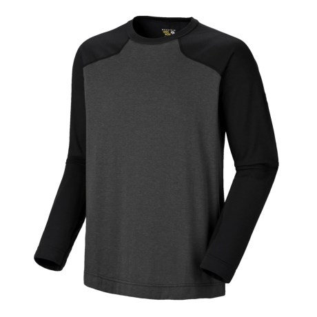 Mountain Hardwear Cliffer Color-Block T-Shirt - Long Sleeve (For Men)