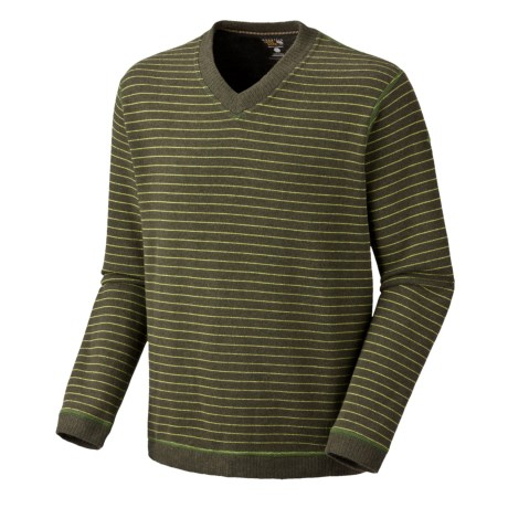 Mountain Hardwear Melbu Stripe Sweater - V-Neck (For Men)