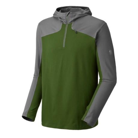 Mountain Hardwear Butter Man Hoodie - Color-Block, UPF 50 (For Men)