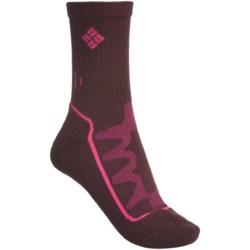 Columbia Sportswear Hiker Medium II Socks - Merino Wool, Medium Cushion, Crew (For Women)