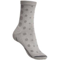 Columbia Sportswear Vented Commuter Socks - Merino Wool, Crew (For Women)