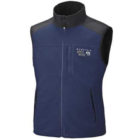 Mountain Hardwear Mountain Tech AirShield Fleece Vest (For Men)