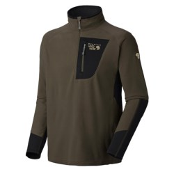 Mountain Hardwear MicroStretch Zip Pullover Shirt - Fleece (For Men)