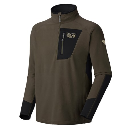 Mountain Hardwear MicroStretch Zip Pullover Shirt - Fleece (For Men)